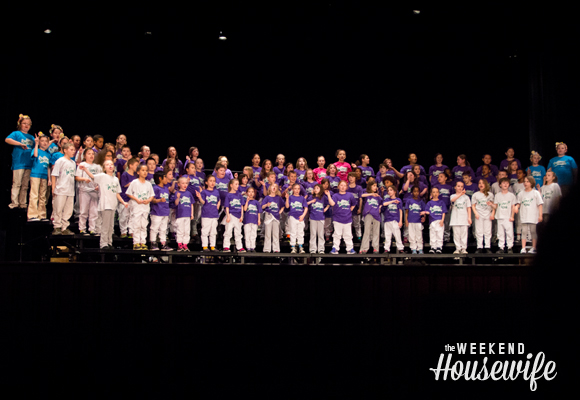 The Weekend Housewife - Willy Wonka Kids Performance