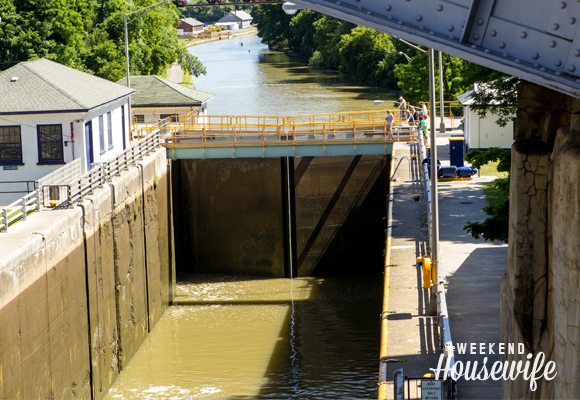 The Weekend Housewife - Hometown Series - Lockport, NY - Erie Canal