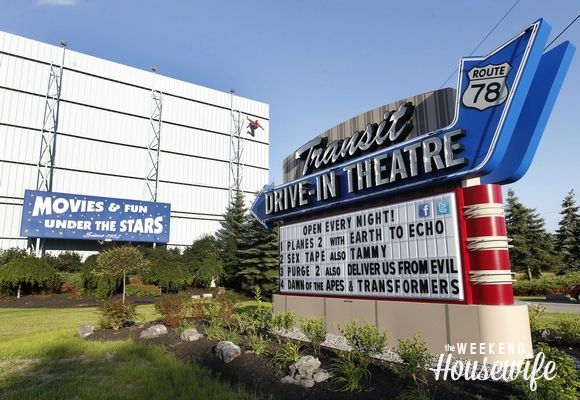 The Weekend Housewife - Hometown Series - The Transit Drive-In