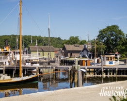 The Weekend Housewife - Mystic Seaport - Mystic, CT.