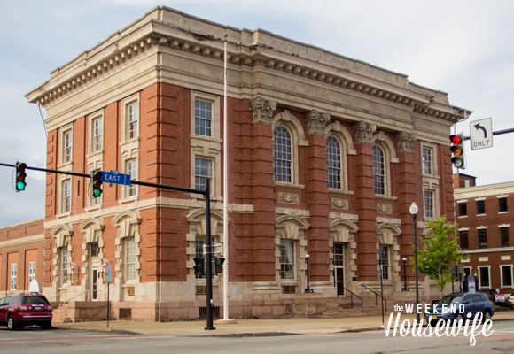 The Weekend Housewife - Hometown Series - Old Post Office - Lockport, NY