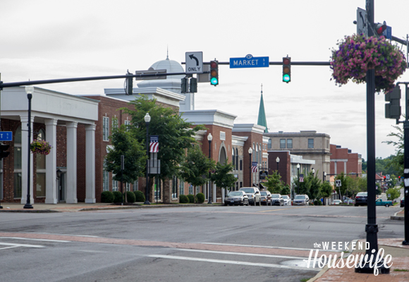 The Weekend Housewife - Hometown Series - Downtown Lockport, NY