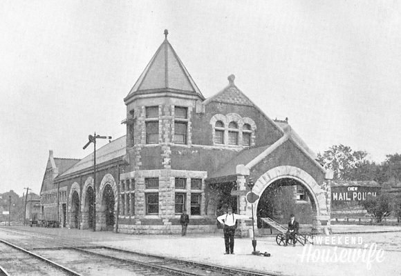 The Weekend Housewife - Hometown Series - Lockport, NY Union Station