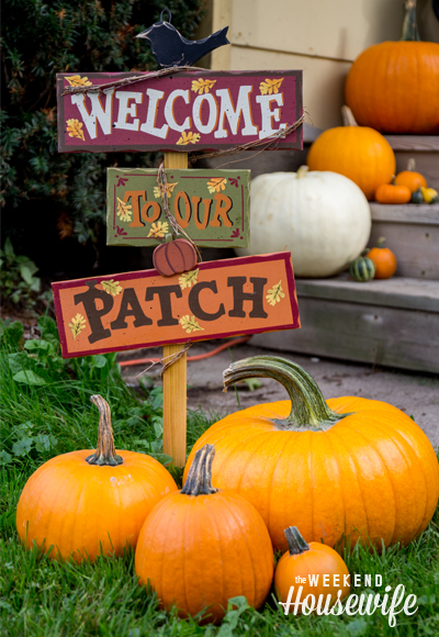 The Weekend Housewife - Pumpkinville Great Valley, NY - Autumn Chatterbug Blog Hop