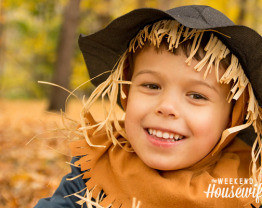 The Weekend Housewife - 13 Days of Halloween - Picture Halloween: Photographing Kids in their Costumes