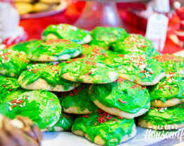The Weekend Housewife - Countdown to Christmas - Banana Drop Cookies Recipe