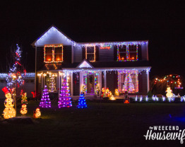 The Weekend Housewife - Countdown to Christmas - Looking at Lights