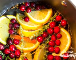 The Weekend Housewife - Countdown to Christmas - Christmas Stove Top Potpourri