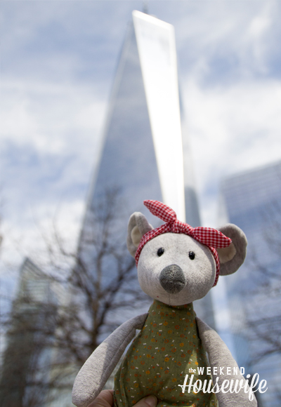 The Weekend Housewife - NYC Trip with Lucy the Mouse
