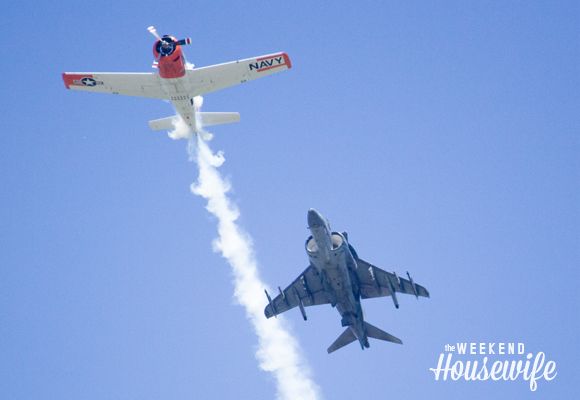The Weekend Housewife - Thunder of Niagara Airshow - Niagara Falls Air Force Base