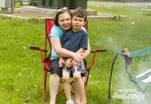 The Weekend Housewife - Camping at Allegheny State Park