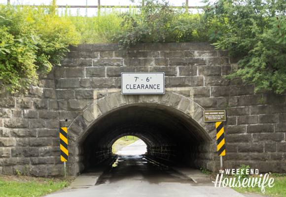 The Weekend Housewife - Tunnel Under The Erie Canal - Medina NY