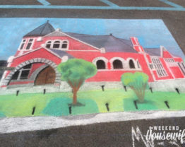 The Weekend Housewife - Sweet Chalk Festival - Lockport NY